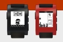 http://www.wired.com/2013/05/downloadable-pebble-watch-faces/